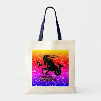 Capricorn Zodiac Modern Tote Bags