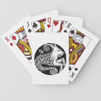 Capricorn - Zodiac Party playing cards