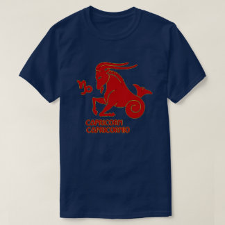 Capricorn Zodiac sign color Modern T-Shirt