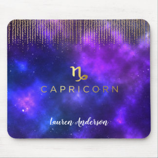 Capricorn Zodiac Sign Computer Mousepad
