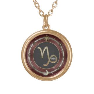 Capricorn Zodiac Sign Custom Necklace