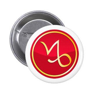 Capricorn - Zodiac Signs Pins