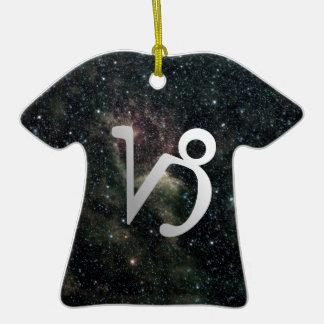 Capricorn Zodiac Star Sign Universe Birthday Ornaments