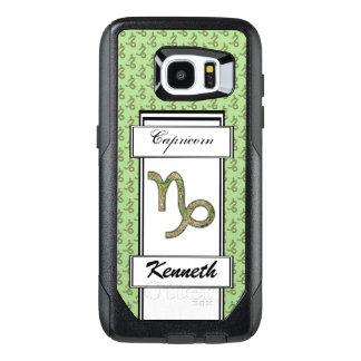 Capricorn Zodiac Symbol Element by K Yoncich OtterBox Samsung Galaxy S7 Edge Case