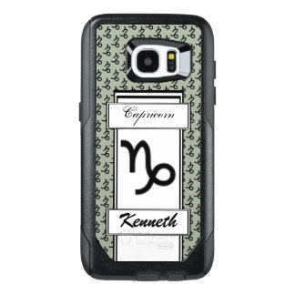 Capricorn Zodiac Symbol Standard by K Yoncich OtterBox Samsung Galaxy S7 Edge Case