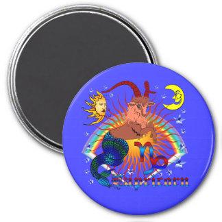 Capricorn-Zodiac-V-1 Fridge Magnet