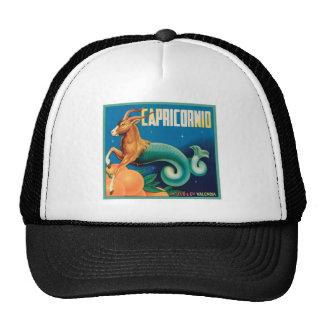 Capricornio Vintage Crate Label Mesh Hat