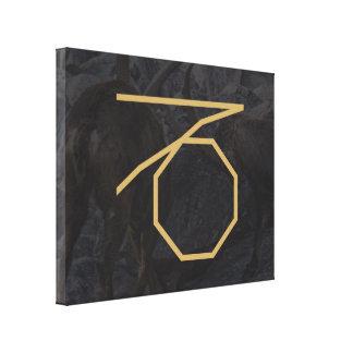 Capricornus Zodiac Sign | customizable Background Canvas Print