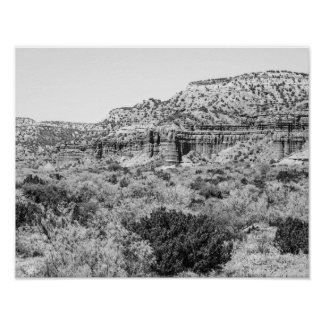 Caprock Canyon Poster