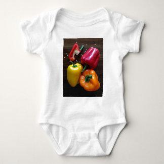 Capsicums... Baby Bodysuit