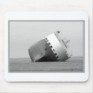 Capsized Ship Mouse Pad