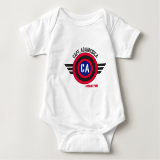Capt Adamerica Infant Tee