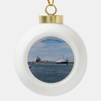 Capt Henry Jackman ball or snowflake ornament