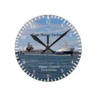 Capt Henry Jackman clock