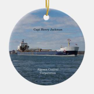 Capt Henry Jackman ornament