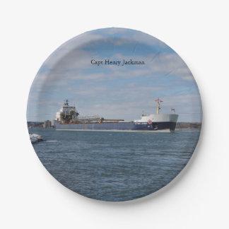 Capt Henry Jackman paper plate