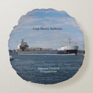 Capt. Henry Jackman round pillow