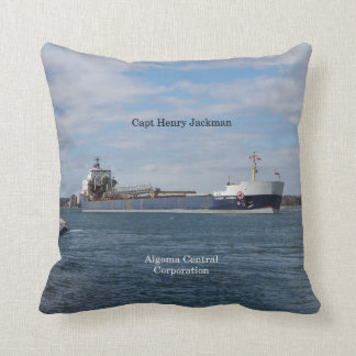 Capt. Henry Jackman square pillow