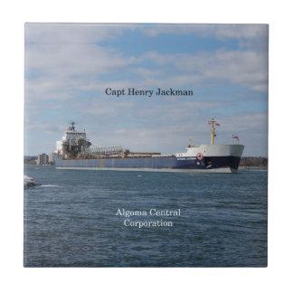 Capt Henry Jackman tile