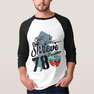 Capt Shreve Baseball Tee