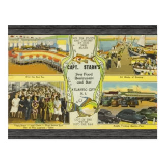 Capt. Starn'S Restaurant And Bar Atlantic City, Vi Post Cards