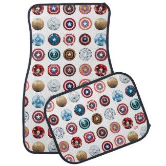 Captain America 75th Anniversary Shield Pattern Floor Mat