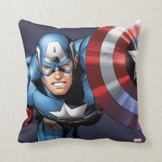 Captain America Assemble Cushion