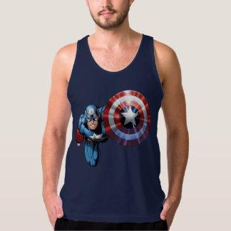 Captain America Assemble Singlet
