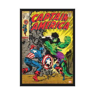 Captain America Comic #110 Canvas Print