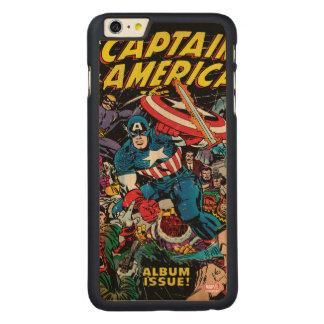Captain America Comic #112 Carved Maple iPhone 6 Plus Case