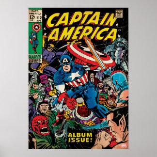 Captain America Comic #112 Poster