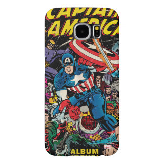Captain America Comic #112 Samsung Galaxy S6 Cases