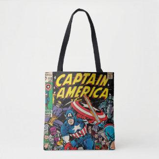 Captain America Comic #112 Tote Bag