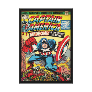 Captain America Comic #193 Canvas Print