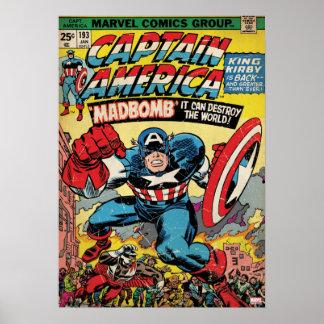 Captain America Comic #193 Poster
