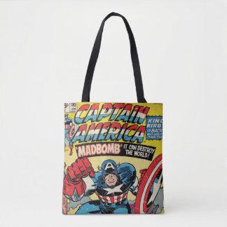 Captain America Comic #193 Tote Bag