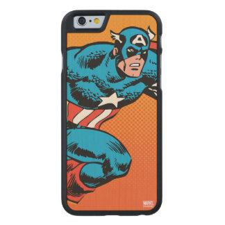 Captain America Dash Carved Maple iPhone 6 Case