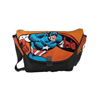 Captain America Dash Courier Bags