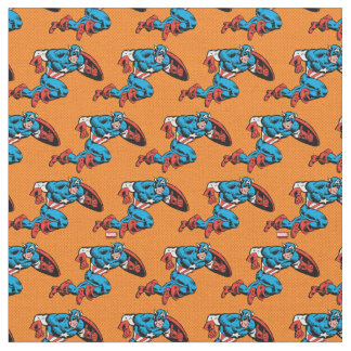 Captain America Dash Fabric