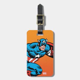 Captain America Dash Luggage Tag