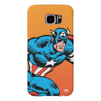 Captain America Dash Samsung Galaxy S6 Cases