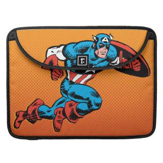 Captain America Dash Sleeve For MacBook Pro