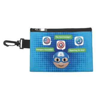 Captain America Emoji Accessory Bag