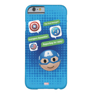 Captain America Emoji Barely There iPhone 6 Case