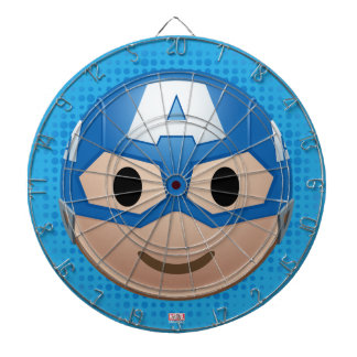 Captain America Emoji Dartboard