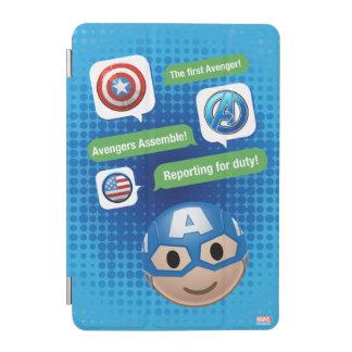 Captain America Emoji iPad Mini Cover