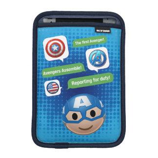 Captain America Emoji iPad Mini Sleeve
