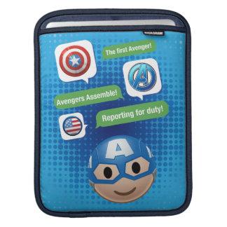 Captain America Emoji iPad Sleeve
