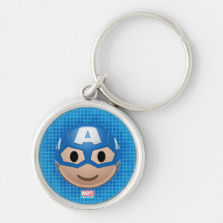 Captain America Emoji Key Ring