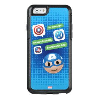 Captain America Emoji OtterBox iPhone 6/6s Case